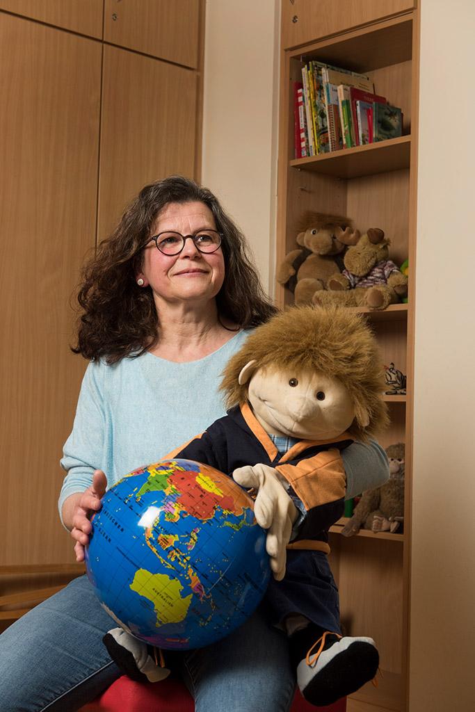 Sie nimmt mit dem KUGEL-Programm vor allem die Eltern in den Fokus ihrer Arbeit: Heike Burmeister (WOI)
