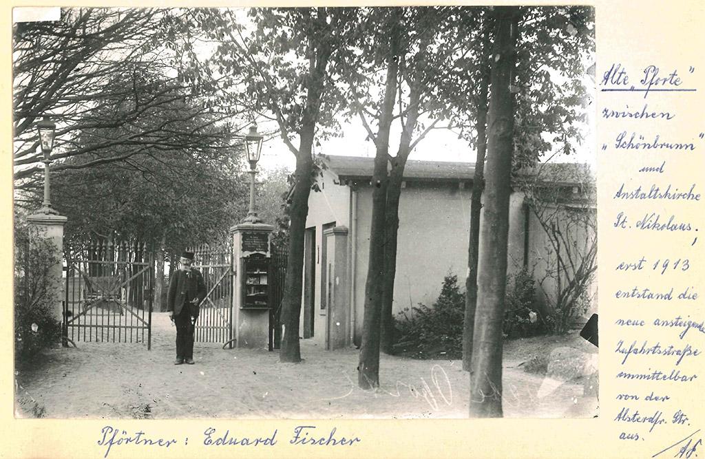 Alte Pforte bis 1913