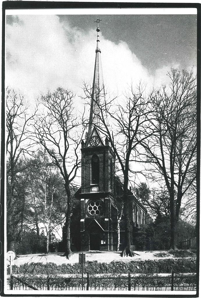 Historische Ansicht der St. Nicolaus-Kirche